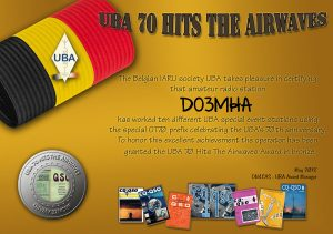 UBA Award Bronze