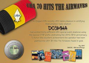 UBA Award Gold