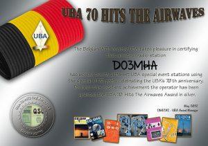 UBA Award Silver